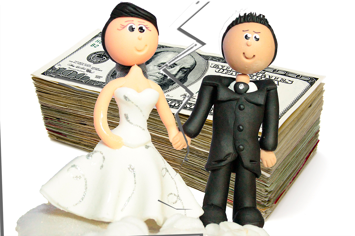 Daniel J. Siegel, P.C., spousal maintenance, married couple divorcing with money