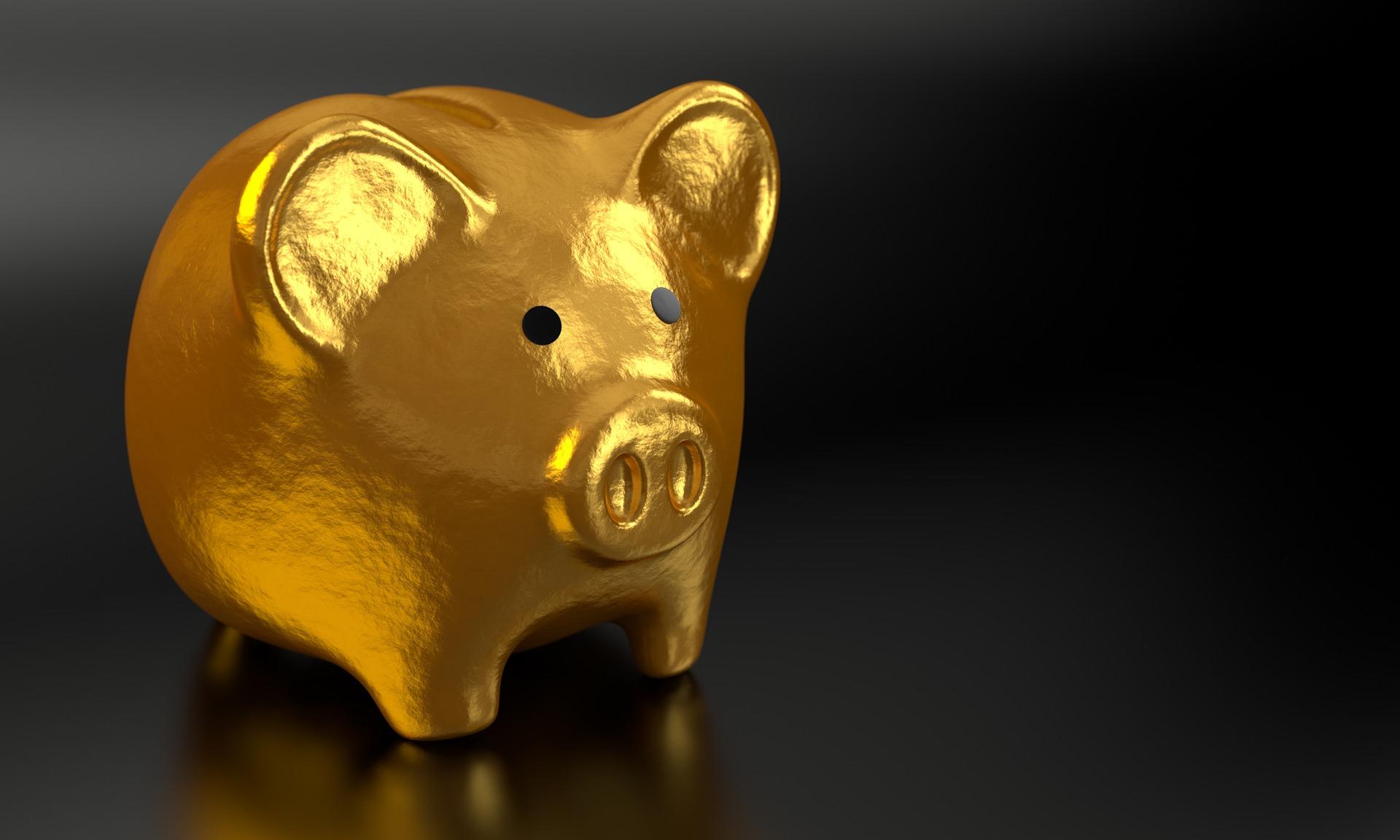 golden piggy bank, retirement accounts, courtesy of Arizona Divorce Lawyer and Daniel J Siegel